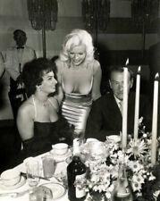 196459 Sophia Loren and Jayne Manfield at Romanoff's Wall Print Poster CA