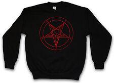 BAPHOMET PENTAGRAM SWEATSHIRT Pentagramm Satan Crowley Hexagram Sweat Pullover