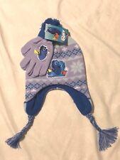 Disney Pixar/Berkshire Fashion Cap & Glove Set: Girls Finding Dory, Blues/Multi