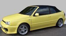 Convertibile VW Golf 3 Cappotta Tessuto nero incl. laterale Saldatura come