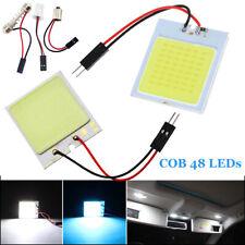 48 LED Car Roof Panel Light Bulbs Vehicle Interior COB Chips Lamps 12V T10 BA9S