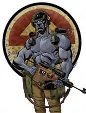2000AD Rogue Trooper-Póster/foto/impresión o transferencia la camiseta