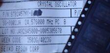 EPSON SG-8002JA 24.576000 MHz PROGRAMABLE CRYSTAL OSCILLATOR