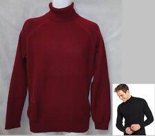 Calvin Klein 405S311 SNOW FIRE AND ICE Biking Red Turtleneck sweater XXL NEW