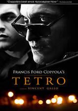 Tetro  widescreen  Francis Ford Coppola  Vincent Gallo  DVD