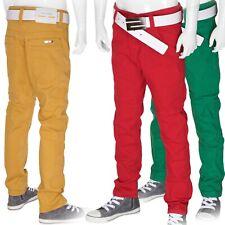 Jungen Hose Jeans Kinderhose Gr.110-176 Sommer Jeanshose Rot Grün Ochre/Gelb Neu