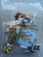 Cheetah Endangered Wildlife Friends Amoco New Stuffed Toy Sealed In Original Bag