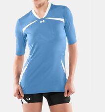Under Armour Women's HeatGear Elevate 1/2 Sleeve Volleyball Jersey Save 40%!  XL