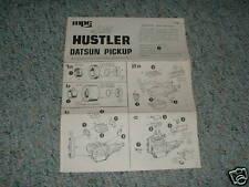 MPC Hustler Datsun Pick Up Instructions B.