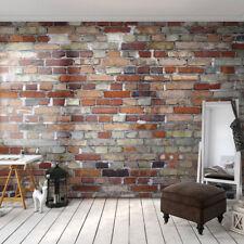 Vlies Fototapete Ziegel Backstein Ziegelwand Vlies Tapete xxl bis 6m! f-A-0569
