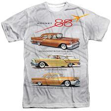 Authentic Oldsmobile Golden Rocket 88 Car logo Sublimation Allover Front T-shirt