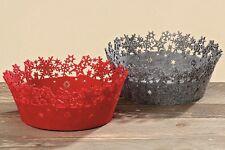 Korb Yumi Aufbewahrungskorb Basket Weihnachten Farbwahl rot grau Yumi