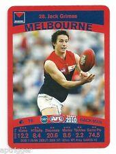 2010 TeamCoach (28) Jack GRIMES Melbourne