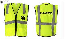 Paramedic Logo Emergency Medical Team EMS Logo Vest T shirts