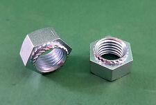 Sechskant- Setzmutter Einpressmutter Stahl galvanisch verzinkt Mutter M3 - M16