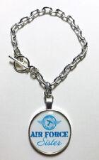 Air Force Sister Charm Bracelet