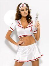Costume Travestimento Lingerie Infermiera Nurse Set Hot