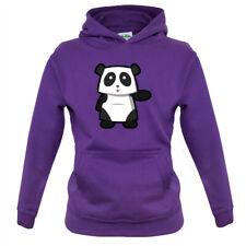 Cute Panda - Kids Hoodie Pandas Animal Love Kung Fu Adorable Gift Cute