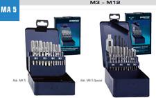 Gewindeschneider Satz M3-M12 Gewindeschnesortiment HSS 21-29 teilig DIN 352