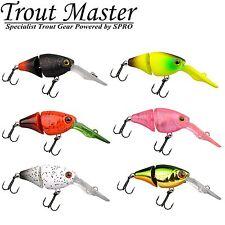 Trout Master Joint Crank 35 3,5cm 3,4g - Wobbler, Forellenwobbler, Forellenköder