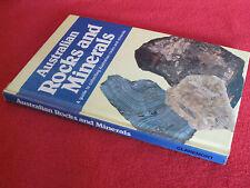 Australian Rocks and Minerals by Sharman N. Bawden   Unread HARDcover