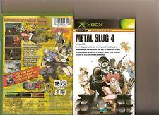 Metal Slug 4 XBOX/X BOX SNK Shooter