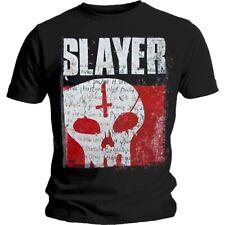 """Slayer """"indiscusso atteggiamento Skull"""" T-Shirt-Nuovo e Ufficiale!"""