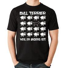T-Shirt BLACK SHEEP - BULLTERRIER BULL TERRIER   Hunde Fun Men Siviwonder