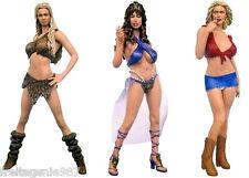 ADULT SUPERSTARS VIVID GIRLS - 3 PVC figures 16cm by Plastic Fantasy/Sota