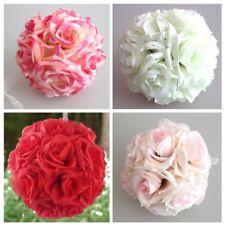 15* 21cm Handmade Foam Rose Artificial Flower Ball Crafts Wedding Bouquets Party