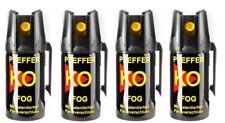 Ballistol KO FOG Pfeffer Spray 40ml zur Tierabwehr mit Gürtelclip Sprühnebel 4m