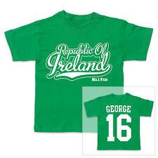 República de Irlanda Fútbol Personalizado Niño/Niña Camiseta
