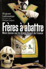 Livre frères à abattre  H. Leforestier  book