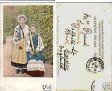 Two Russian Girls, Russian Types, Russia, 1900s