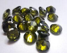5 Cts.1pcs Beautiful Natural 9 mm Round Zircon Loose Gemstone Lot BG11