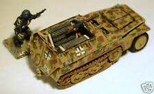 "SHQ GV140 1/76 Diecast WWII German Sdkfz 251/1 Ausf A & B ""Hanomag"" Half-track"