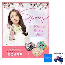 Women Scarf Silk Fashion Neck Warmer Scarf Shawl Accessories Chiffon 150x50