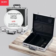 Aluminum Mens Briefcases with Password Lock Laptop Business Hard Case Organizer