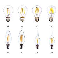 E12 E26 110V 2W 4W 6W 8W Retro Vintage Filament LED Bulb (10 pack available)