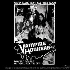 Vampire Hookers John Carradine Player Prostitution Pimp Campy Game Shirt NFT298