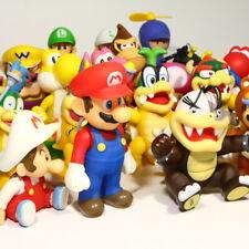 Super Mario Bros. Koopa Luigi Yoshi Bowser Action Figure Nintendo World Toy Doll