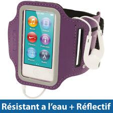 Pourpre Brassard Armband pour Nouveau Apple iPod Nano 7ème Gén 7G 16GB