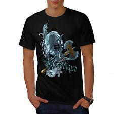 Wellcoda graphique Knight T-shirt homme, Medieval conception graphique imprimé Tee