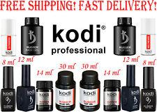 Kodi Professional Rubber Base Top Ultrabond Primer Nail Fresher No Sticky Top!!!