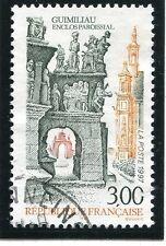 TIMBRE FRANCE OBLITERE N° 3080 GUIMILIAU FINISTERE /  Photo non contractuelle