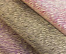 Zebra Stampa Glitter regalo avvolgimento fogli decorativi per tutte le occasioni 70x50cm