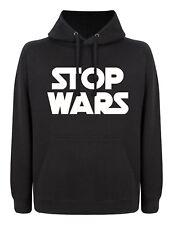 Detener las guerras de las galaxias estilo político paz sudadera con capucha de deportes Unisex De estilo cómodo