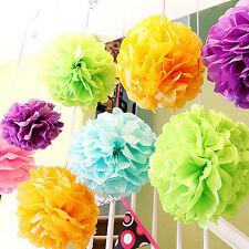 Tissue Paper Pom Poms Flower ball Pomander Wedding Party Decoration pompoms