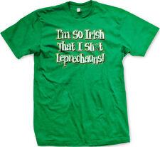 Im So Irish I S**t Leprechauns St Patricks Day FREE SHIPPING New Mens T-shirt