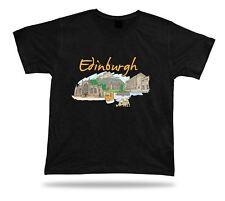 Edinburgh Castle Mary King's Close Museum of Childhood botanic garden tee tshirt
